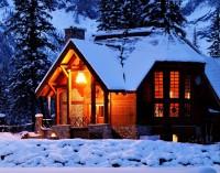 Casa parintilor iarna