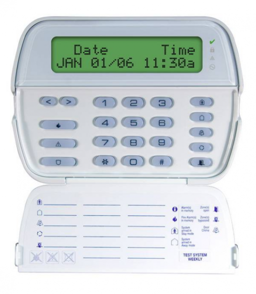 Сегментная ж/к клавиатура PK 5500E1H2